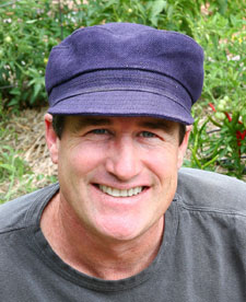 Nate Downey, owner of Santa Fe Permaculture
